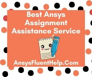 Best Ansys Assignment Assistance Service