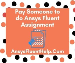 Pay Someone to do Ansys Fluent Assignment